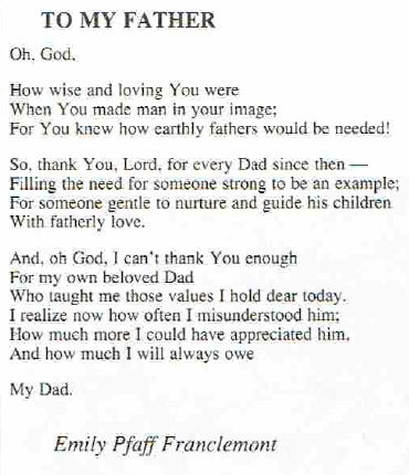 Poems For My Dad 5